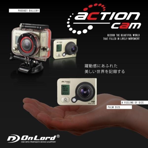 GoPro(ゴープロ)クラス ウェアラブルカメラ アクションカム (OL-101)  60m防水 WiFi機能|alba|05