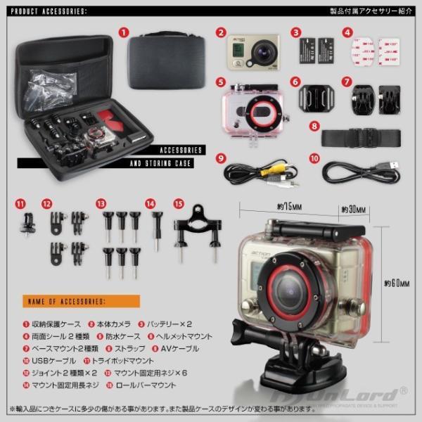 GoPro(ゴープロ)クラス ウェアラブルカメラ アクションカム (OL-101)  60m防水 WiFi機能|alba|06