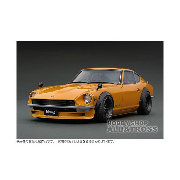 ignition model 1/18 Nissan Fairlady Z (S30) Brown [IG0687]