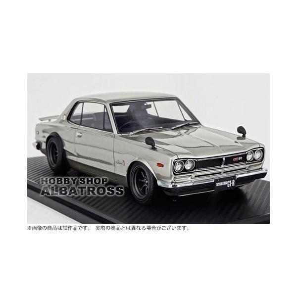 ignition model 1/18 Nissan Skyline 2000 GT-R (KPGC10) Silver [IG0768]
