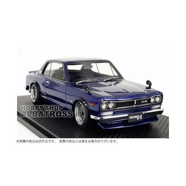 ignition model 1/18 Nissan Skyline 2000 GT-R (KPGC10) Blue [IG0773]