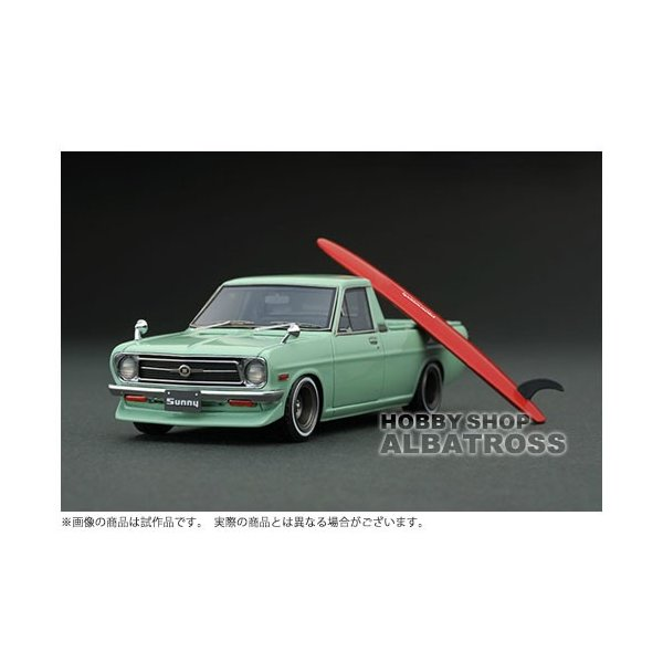 ignition model 1/43 Nissan Sunny Truck Long (B121) Green [IG1280]