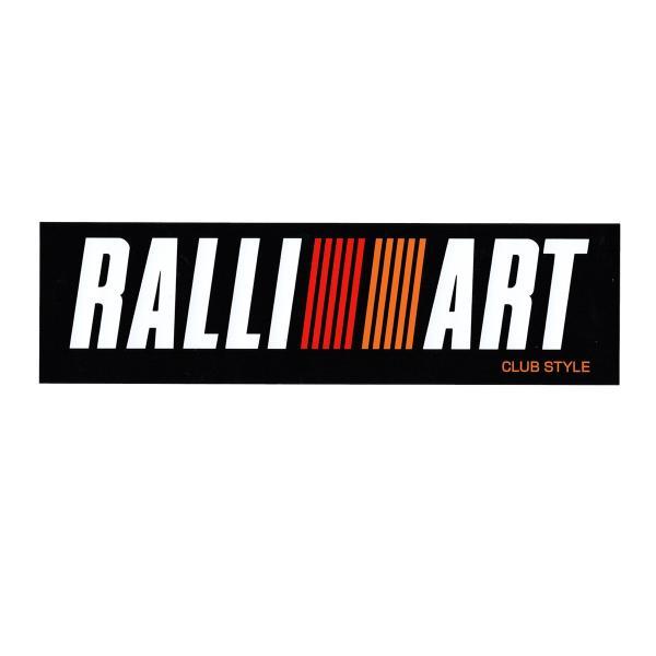 東洋マーク RALLI ART ラリーアート ステッカー Lサイズ 56mm×200mm R-899