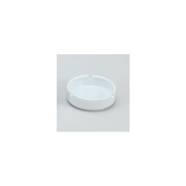 灰皿 白丸三ツ切スタック灰皿陶器 アッシュトレイ 陶製