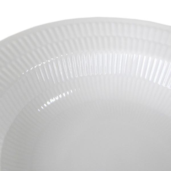 2枚セット ロイヤルコペンハーゲン ホワイトフルーテッド ディーププレート パスタプレート パスタ皿 21cm 2408604|alevelshop|03
