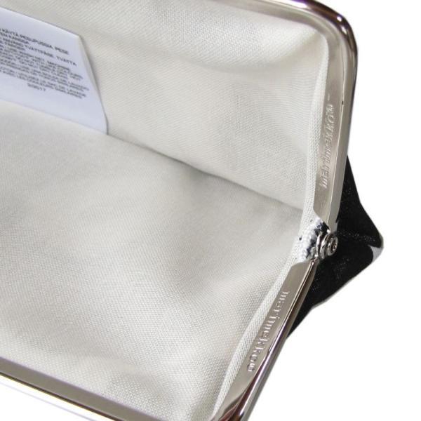 メール便可250円 マリメッコ Marimekko 小物入れ ペンケース がま口 ミニウニッコ ブラック 27003 030 母の日