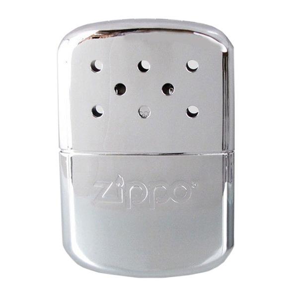 ZIPPO ハンドウォーマー オイル充填式 オイルカイロ ジッポー エコカイロ ハンディウォーマー シルバー クリアケース 40323|alevelshop