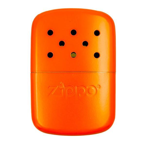 ZIPPO ハンドウォーマー 新色 オイル充填式 オイルカイロ ジッポー エコカイロ ハンディウォーマー オレンジ