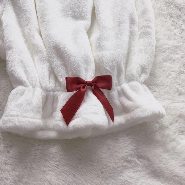 ロリータ かぼちゃパンツ オーバーパンツ 秋冬 暖か フリル ドロワーズ ホワイト もこもこ かわいい|alicedoll|05