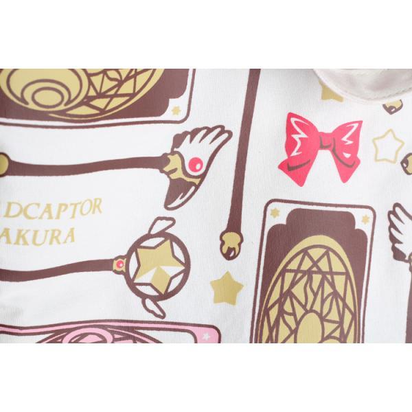 バッグ カードキャプターさくら トートバッグ レディース 星の杖 封印の杖 クロウカード アニメ 可愛い|alicedoll|05