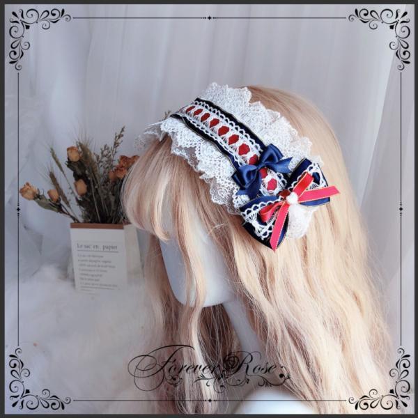 ロリータ ヘッドドレス 白雪姫 カチューシャ ヘアアクセサリー かわいい コスプレ ハロウィン alicedoll