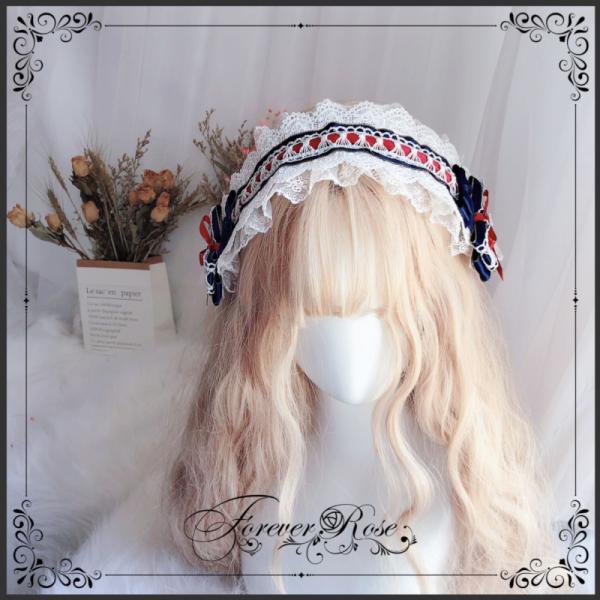 ロリータ ヘッドドレス 白雪姫 カチューシャ ヘアアクセサリー かわいい コスプレ ハロウィン alicedoll 02
