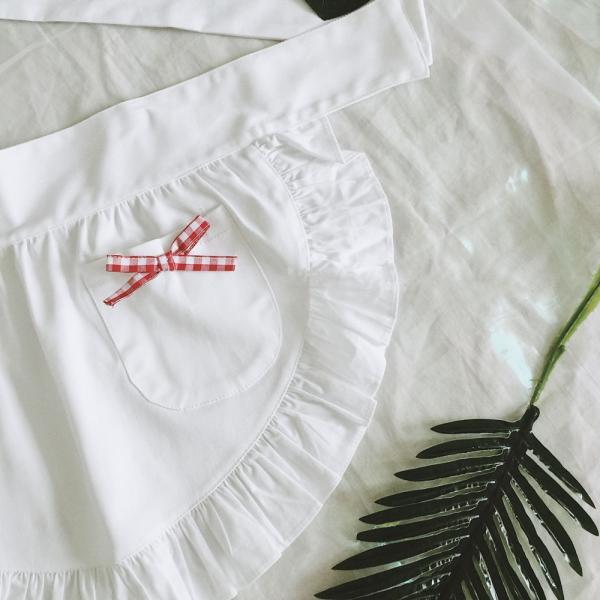 ロリータ ミニ エプロン スカート レディース 可愛い ラップスカート ゆめかわいい|alicedoll|02
