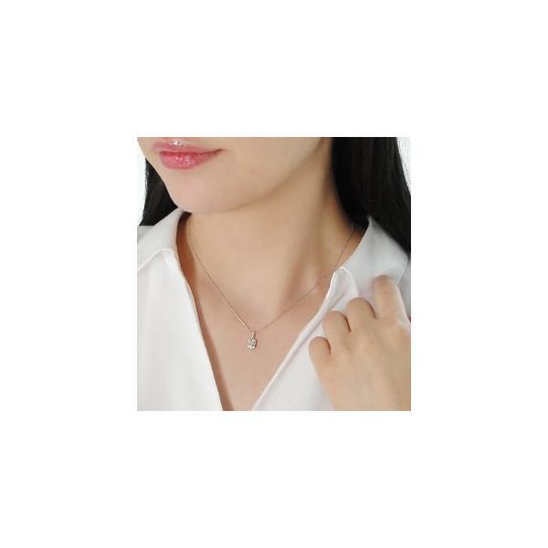 ダイヤモンド ネックレス バケットカット 18k 18金 ゴールド 0.2ct スクエア 長方形 ダイヤ ペンダント AL-0178|alisa|03