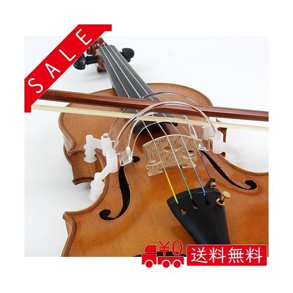 バイオリン弓ボーイング練習ガイド矯正器具HorACEBowGuide(ホーレス・ボウガイド)4/41/2サイズ用