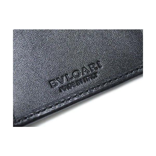 236e20334cd6 ... BVLGARI ブルガリ 名刺入れ カードケース マチ付き 名刺入れ ウィークエンド SVロゴ コーティングキャンバス ブラック