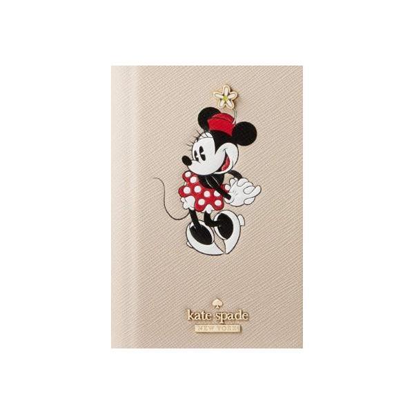ケイトスペード kate spade iPhone XS Max 手帳型レザーケース  ミニーマウス フォリオ|all-for-you|05
