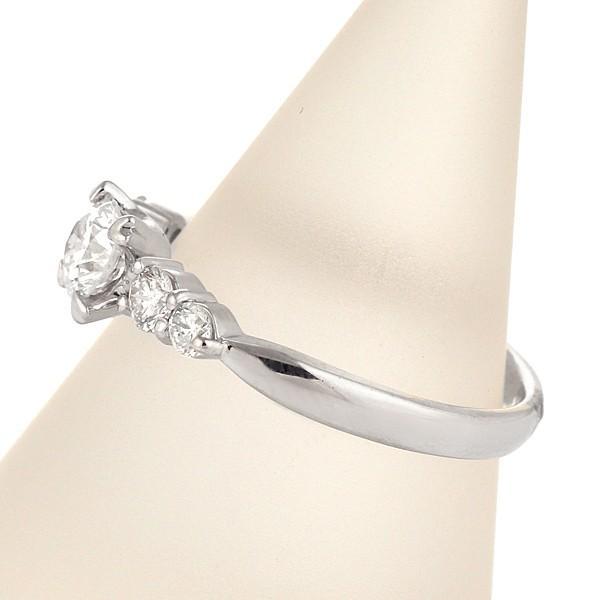 エンゲージリング 婚約指輪 ダイヤモンド プラチナ リング