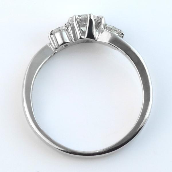 婚約指輪 ダイヤモンド プラチナリング 一粒 大粒 指輪 エンゲージリング 0.2ct プロポーズ用 レディース 人気 ダイヤ刻印無料|all|04