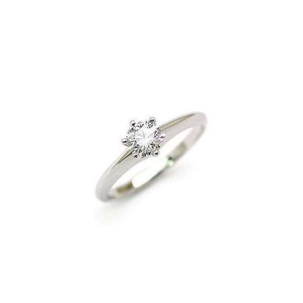 婚約指輪 エンゲージリング ダイヤモンド ダイヤ K18WG  リング
