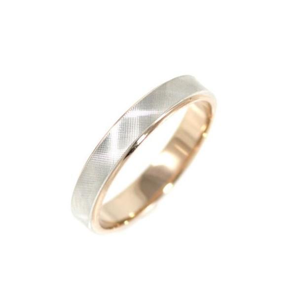 Brand Jewelry Ofertaプラチナ950 K18ピンクゴールドペアリング