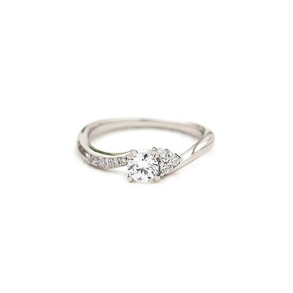 Brand Jewelry fresco プラチナ ダイヤモンドリング