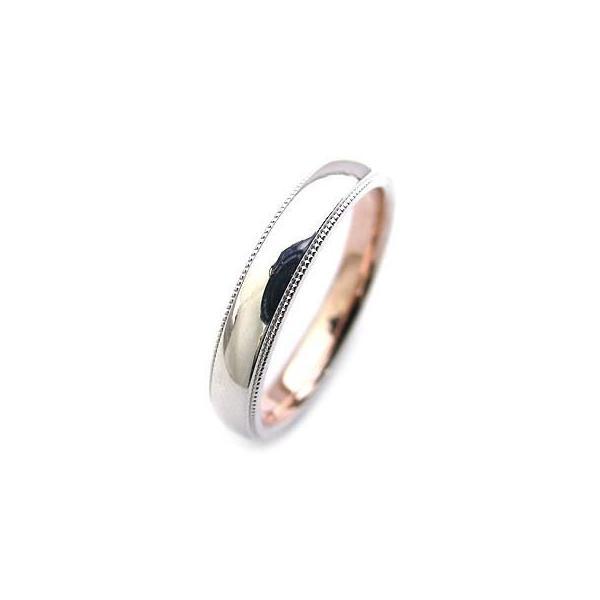 ミル打ち プラチナ 結婚指輪 マリッジリング Angerosa