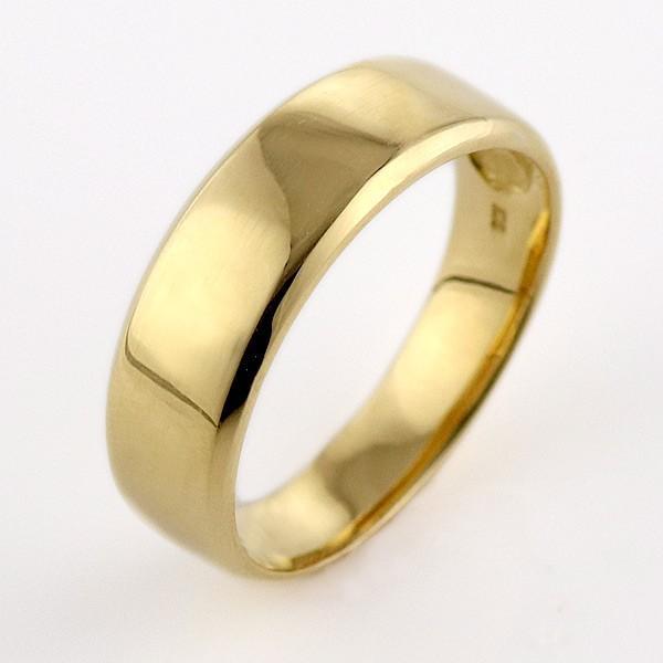 fbf8a2271b ... ペアリング 指輪 ゴールド イエローゴールド 厚め 人気 ファッション
