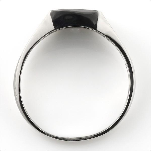婚約指輪 印台リング 指輪 キュービックジルコニア 一粒 シルバー925