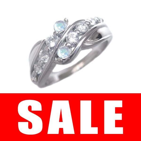 ムーンストーン リング 指輪 (ムーンストーン) 6月 誕生石  ダイヤモンド リング
