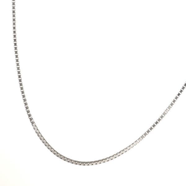 ネックレス ホワイトゴールド K18