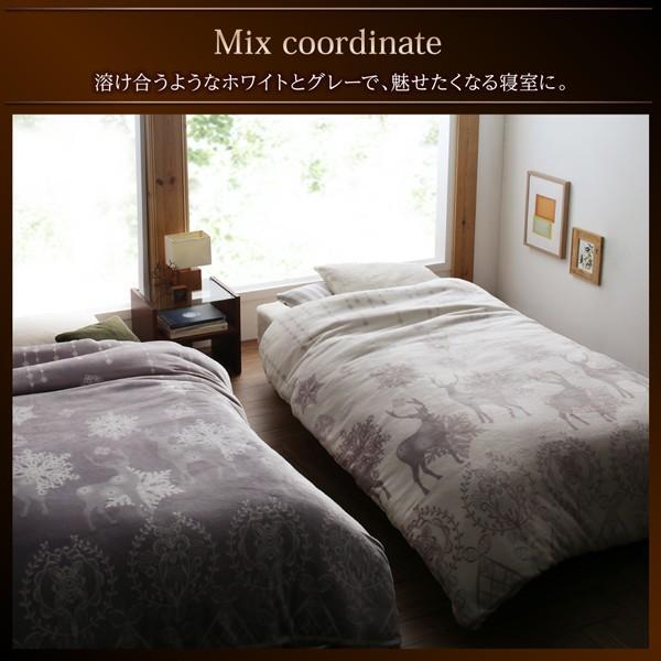 布団カバーセット ベッド用 クイーン4点セット 北欧モダン (ピローケースx 2 掛布団カバー, ボックスシーツ)|alla-moda|15