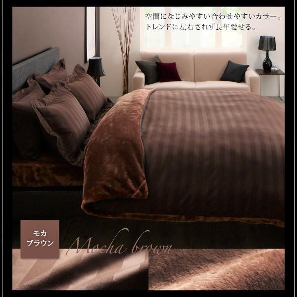 布団カバーセット ベッド用 クイーン4点セット 冬のホテルスタイル (ピローケースx 2 掛布団カバー, ボックスシーツ)|alla-moda|18