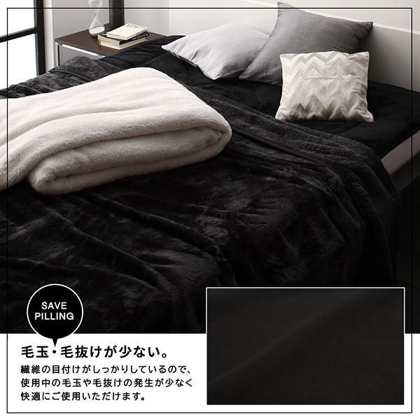 プレミアムマイクロファイバー毛布・敷パッド 敷きパッド セミダブル|alla-moda|09