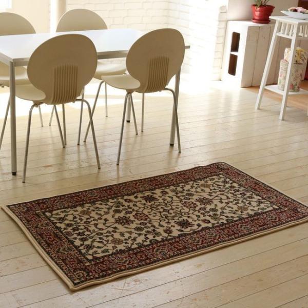 ラグ ウィルトン織りラグ 80×150 alla-moda