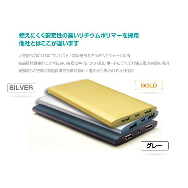 【送料無料】 モバイルバッテリー 大容量 10000mah USB-A 急速充電 iPhone iPad Android 安全 アルミ スマホ タブレット PSE おすすめ cellevo セレボ EP10000F allbuy 05