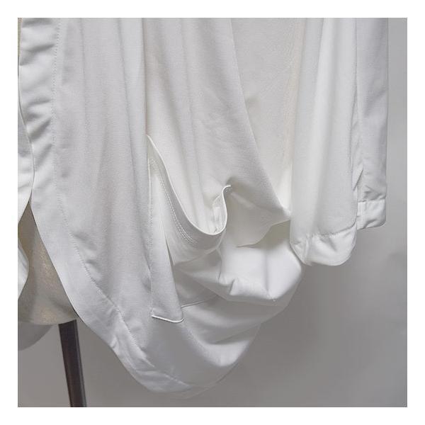 カーディガン メンズ ドレープカーディガン 変形 ボレロ ドルマン ホワイト 白 オリジナル ブランド 個性的 ホスト V系 ビジュアル系 モード系 日本製|alleglo0921|08