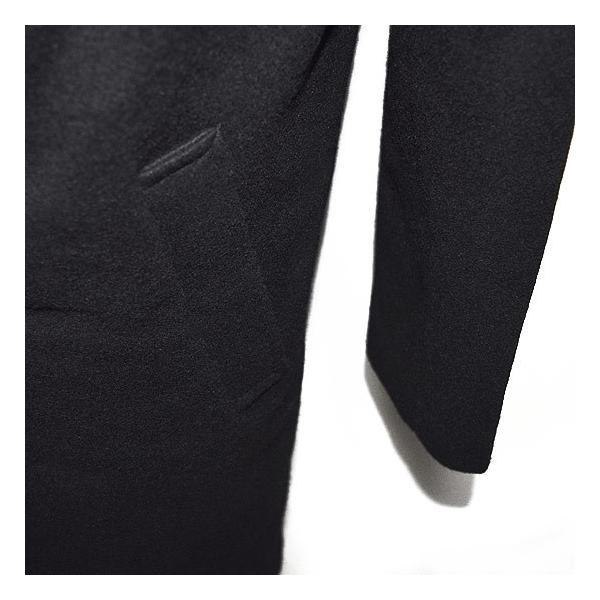 ドレープコート メンズ チェスターコート  ボリュームネック 送料無料 変形 ネックコート オリジナル ブランド 個性的 ホスト V系 ビジュアル系 モード系|alleglo0921|11