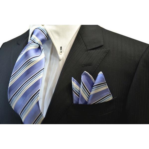 水色地に紺とブルーのグラデーションのポケットチーフ(チーフ23cm) / 20%OFF/PCN-SW13028|allety-y|04