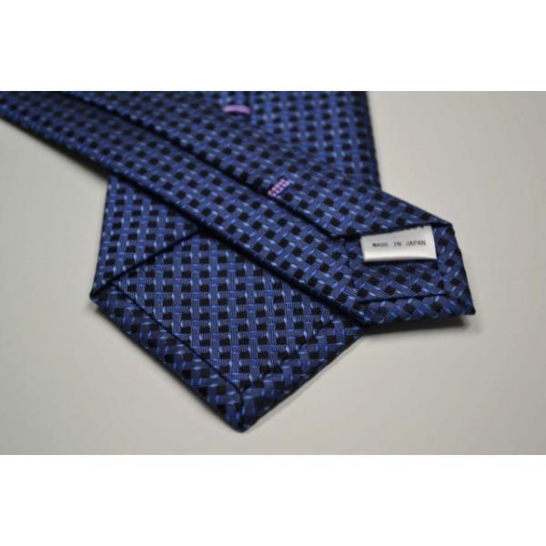 ブルーの濃淡・小紋ネクタイ  / KMN-19W009|allety|03