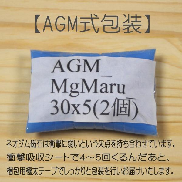 ネオジム 磁石 丸型 30 x 5 mm 2個 ネオジウム 強力 永久 マグネット 密度 研究 加工 モーター 磁束密度 磁力 ガウス|alleygem|03