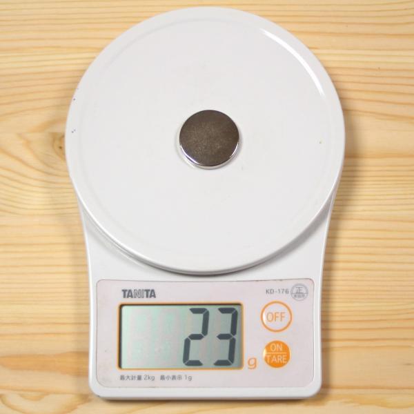 ネオジム 磁石 丸型 30 x 5 mm 2個 ネオジウム 強力 永久 マグネット 密度 研究 加工 モーター 磁束密度 磁力 ガウス|alleygem|05