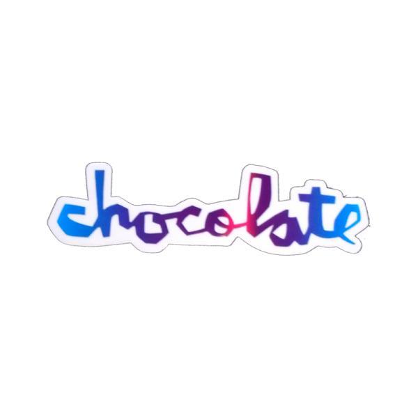 """チョコレート CHOCOLATE/CHUNK STICKER 3"""" (MULTI) ステッカー"""