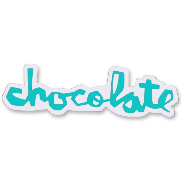 """チョコレート CHOCOLATE/CHUNK STICKER 6"""" (E.GREEN) ステッカー"""