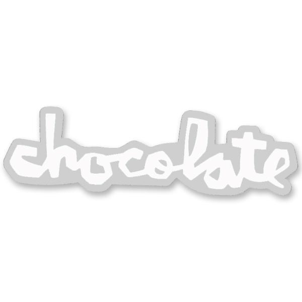 """チョコレート CHOCOLATE/CHUNK STICKER 3"""" (WHITE) ステッカー"""