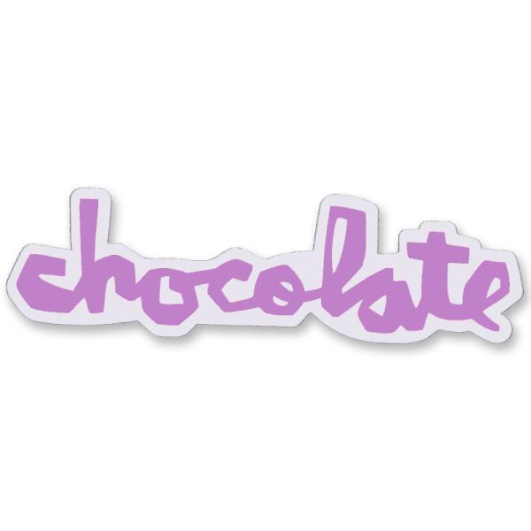 """チョコレート CHOCOLATE/CHUNK STICKER 3"""" (PURPLE) ステッカー"""