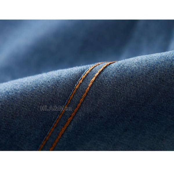 カジュアルシャツ デニム シャツ メンズ 長袖シャツ デニムシャツ ダンガリーシャツ トップス 新作 allforever 16