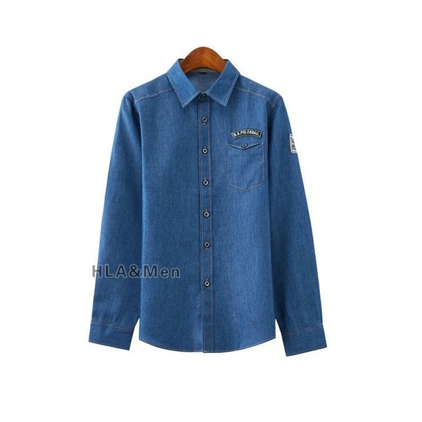 カジュアルシャツ デニム シャツ メンズ 長袖シャツ デニムシャツ ダンガリーシャツ トップス 新作 allforever 09
