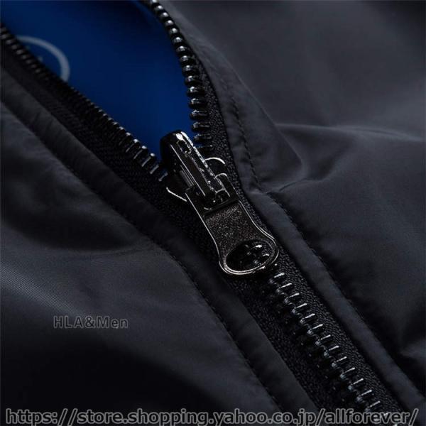 ジャケット MA1 メンズ リバーシブル ナイロンジャケット フライトジャケット スタジャン ミリタリー アウター 両面着用 2019秋冬 新作|allforever|18