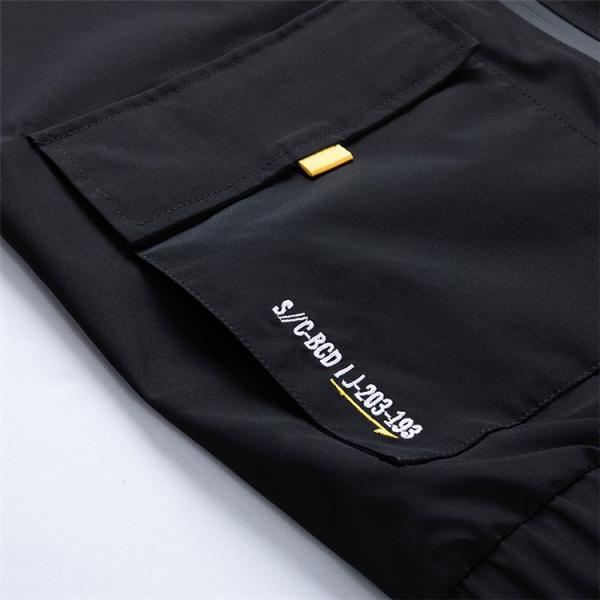 ウィンドブレーカー メンズ ジャケット 薄手 マウンテンパーカー ジャンパー ライトアウター 切替 お兄系 allforever 17